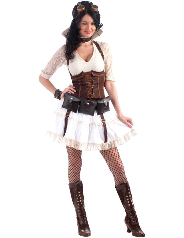 steampunk sally adult womens costume might be my halloween costume - High Quality Womens Halloween Costumes