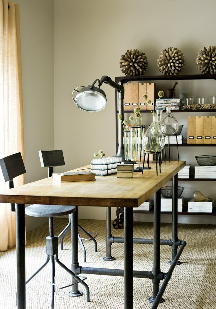 greige: interior design ideas and inspiration for the transitional home by christina fluegge: Dark and detailed, I am completely in love..