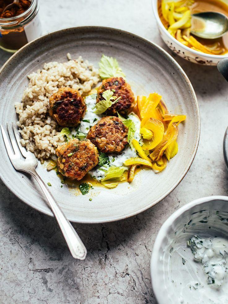 4 gesunde Abendessen Rezepte für unter einem Tenner  #abendessen #einem #gesund…