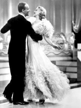 "LOVE them!  LOVE this quote from Faith Whittlesey regarding Ms. Rogers; ""Remember, Ginger Rogers did everything Fred Astaire did, but backwards & in high heels."" (Fred Astaire & Ginger Rogers in ""Swing Time"" 1936)"