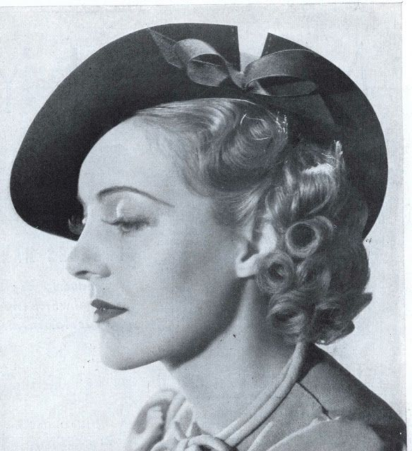 Pat Patterson in hat III, 1937