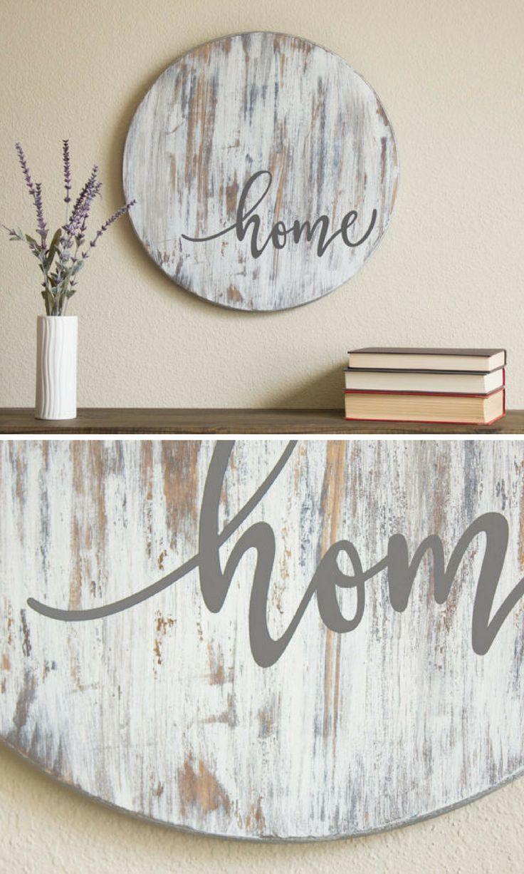 Home Sign Fixer Upper Style Bauernschild Rustikale