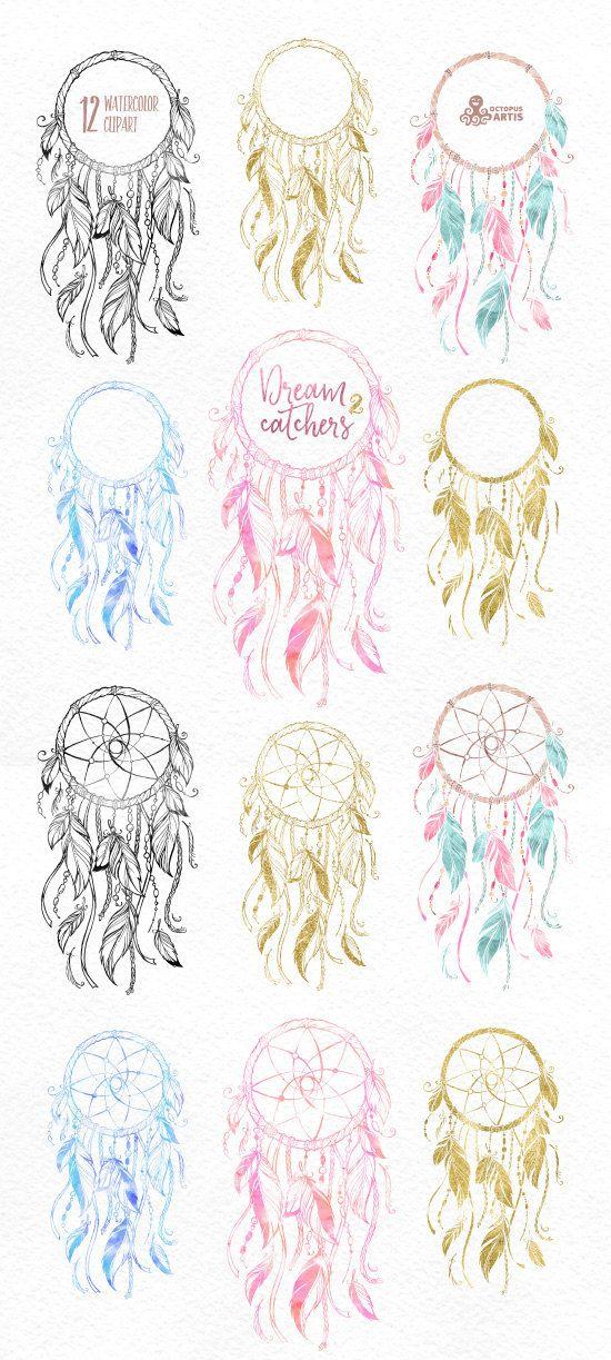 Dreamcatchers 2. Imágenes Prediseñadas de la por OctopusArtis