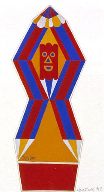 Fortunato Depero (1892-1960), 1929, New York. #Italian_Futurism