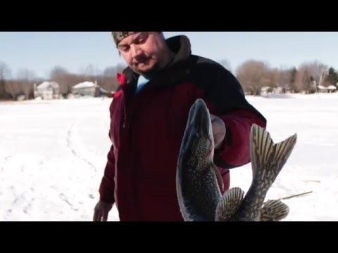 Ice Fishing Lac St.Louis / Peche sur glace