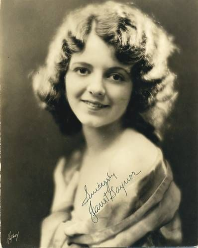 Image detail for -Janet Gaynor. She was pretty.we watched Sunrise (starring Janet Gaynor ...