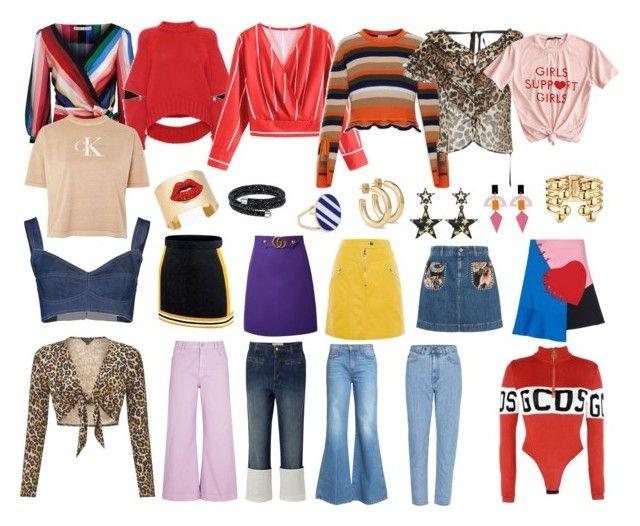 """33"" by pasanidi-konstantin on Polyvore featuring мода, Alice + Olivia, Alexander McQueen, Dolce&Gabbana, Calvin Klein, Moncler, GCDS, Rodarte, Miss Selfridge и STELLA McCARTNEY"