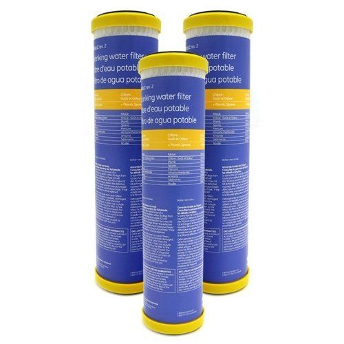 GE SmartWater Undersink Replacement Filter (FXULC), 3-Pack by GE. $122.95. The GE FXULC single stage under sink drinking water filter replacement filter is compatible with the following systems: GX1S15 GX1S01C GN1S15C GN1S20C GX1S04C Culligan US-550 D30 D40 Reduces chlorine taste & odor, cysts, asbestos, turbidity, sediment and rust. The FXULC reduces the following from your water 89% ofAtrazine 90% of Mercury 98% of Lead 92% of Lindane 99.99% of Cysts 97% of ...