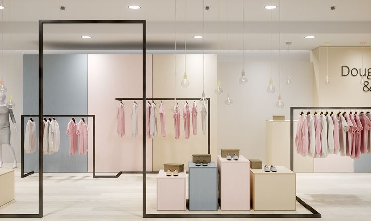 stalowe minimalistyczne wieszaki na ubrania