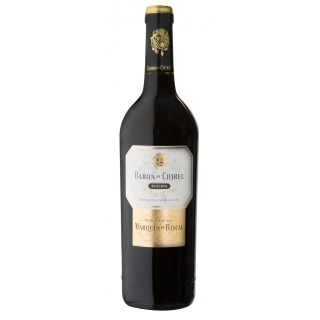 Baron de Chirel Reserva, Marques de Riscal | Rioja, Spain | Buy online by the bottle or mixed case from Hic! Wine Merchants