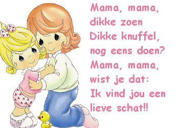Tekst voor Moederdag: Ik vind jou een schat op Feest-Plaatjes.nl