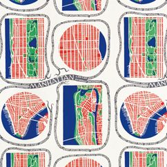 Manhattan Linen by Svenskt Tenn, designed by Josef Frank in 1942