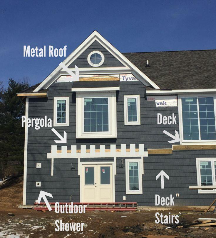Lake Home Siding Ideas: 1000+ Ideas About Grey Siding House On Pinterest