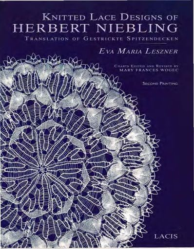Leszner Eva Maria - Knitted Lace Designs of Herbert Niebling - 2009 - Alex Gold - Picasa Webalbums
