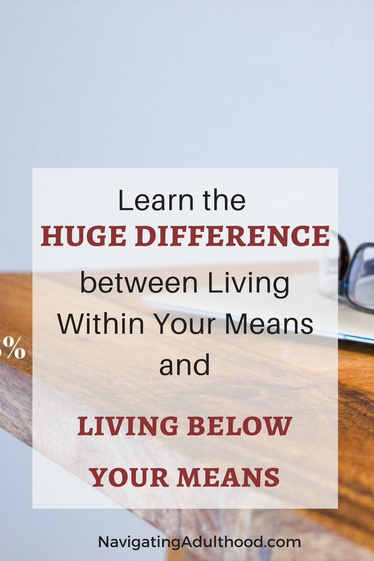 Savings are undeniably important for #personalfinance. But HOW you save and the order in which you save is even MORE important.Learn why living below your means is an absolute must. | Click through to read why living below your means and having a nest egg is so incredibly important