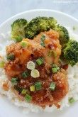 Honey Garlic Chicken Thighs - A quick and easy chicken meal. Moist and full of great sweet and spicy flavors. All ingredients can be purchased at Aldi for under $7 and feed a larger family.