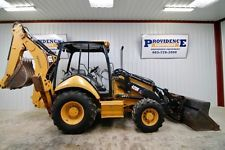 CATERPILLAR 420E IT 4WD BACKHOE LOADER 93 HP 143 DIG DEPTH PALLET FORKS!backhoe loader financing apply now www.bncfin.com/apply