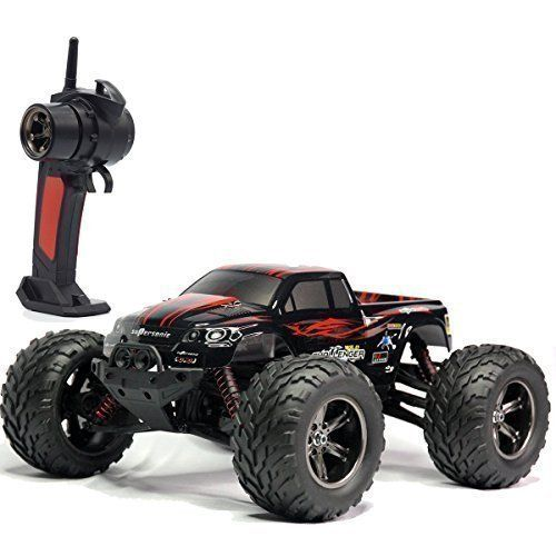 2.4GHz radio system ready to race. Full proportion 1/12 scale 42Km/H 2WD high speed monster truck. Four-wheel independent suspension system. Independent metal differential. Come with 4-wheel shock absorbers. 60A large power circuit system and high temperature protection system of blocking the rotation. . . . read more . . . pls repin