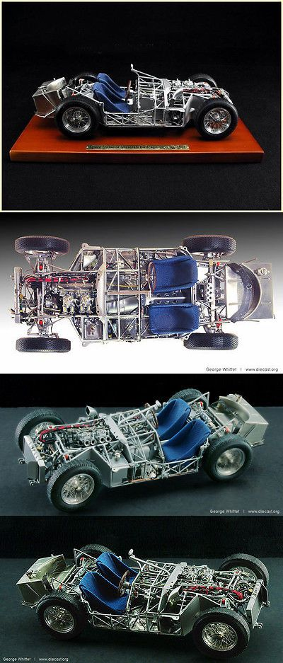 Buildings and Set Parts 171137: 1960 Maserati Birdcage Chassis Diecast Model -> BUY IT NOW ONLY: $398 on eBay!