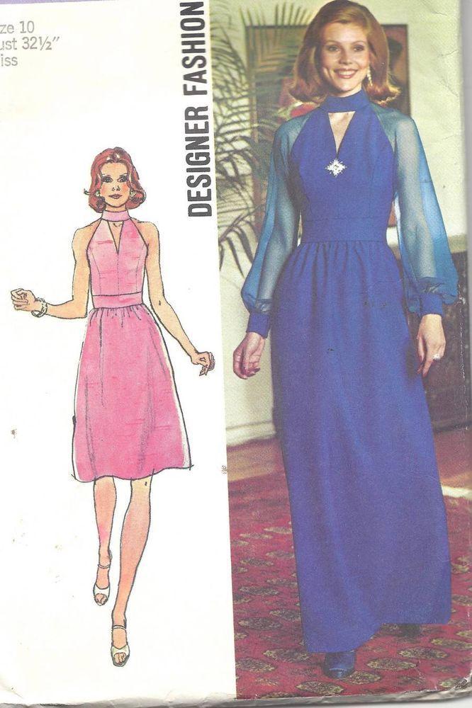 131 best 1970s Vintage Patterns & Fashion images on Pinterest ...