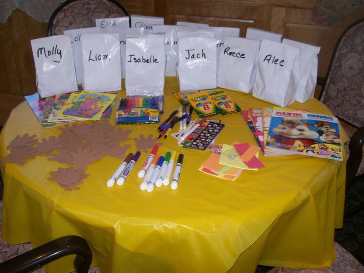 Little Kids Activity Table Shower Amp Party Ideas