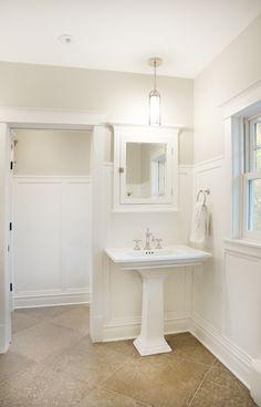 Bathroom White Wall Tile Travertine Floor Tile Google