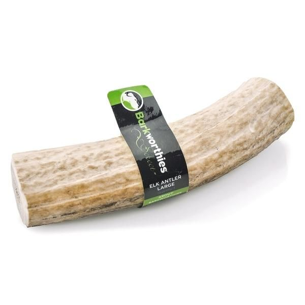 Barkworthies Select Elk Antler Dog Chew Sz: Large 1ct