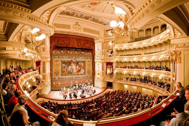 Semperoper Dresden Opera House From Inside Culture Opera