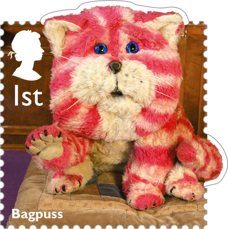Royal Mail 1st Class Postage Stamp from 2014 featuring Classic Children's TV shows - Bagpuss