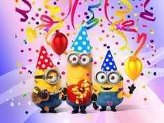 Congratulations Your One In A Minion... Happy Birthday ALS... :) --- http://tipsalud.com -----