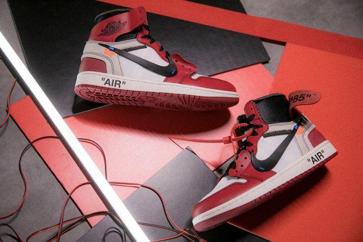 Virgil Abloh Nike Air Jordan 1 Slam Jam Socialism Raffle THE TEN ICONS RECONSTRUCTED