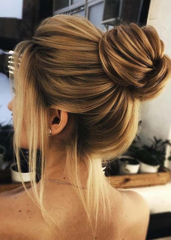 48 Modern Updo Bun Hairstyles For Girls In 2019 Prom Hairstyles For Short Hair Modern Updo Curls For Long Hair
