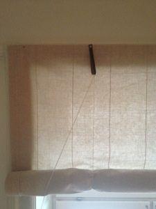 Tutorial para persianas de tela