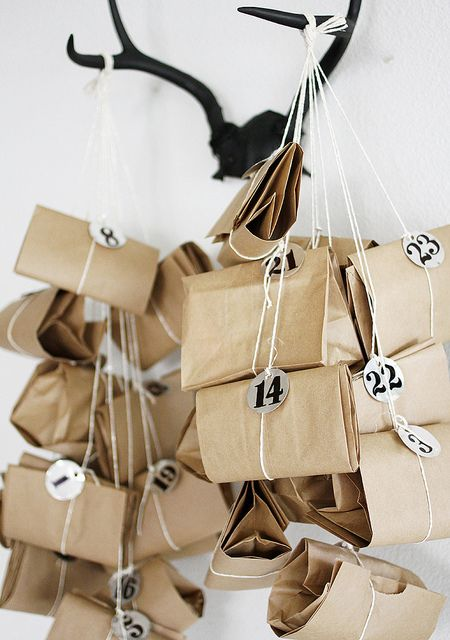 advent calendar DIY  by AMM blog, via Flickr