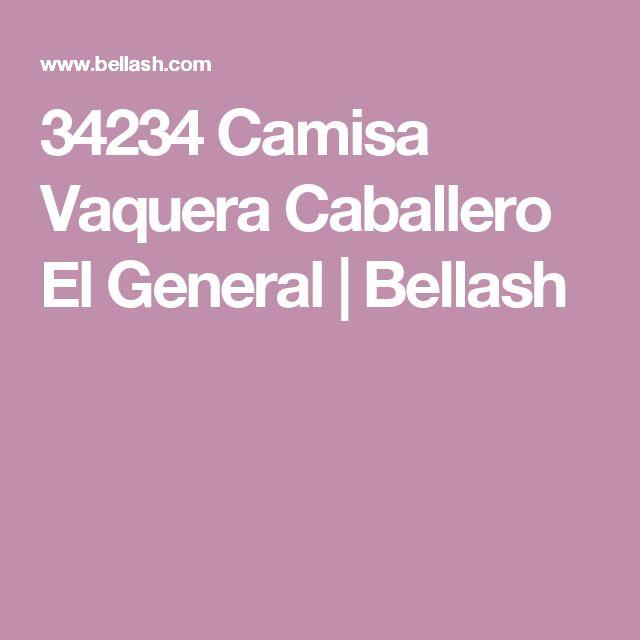 34234 Camisa Vaquera Caballero El General | Bellash