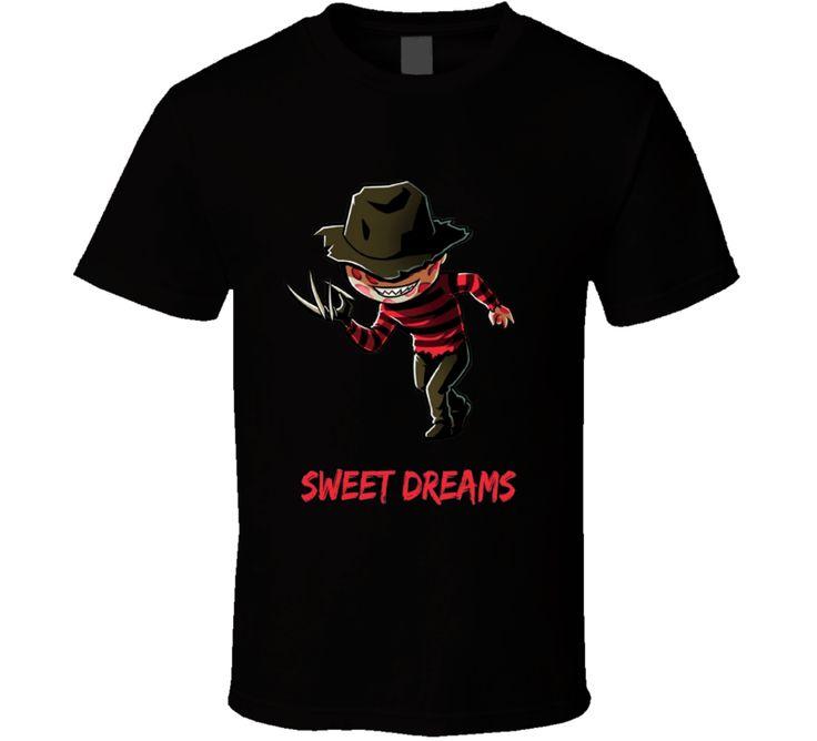 Sweet Dreams Freddy Krueger A Nightmare On Elm Street  T Shirt