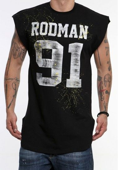 rodman  #vagrancylifestyle #handmade #top #man #sleeveless #tshirt