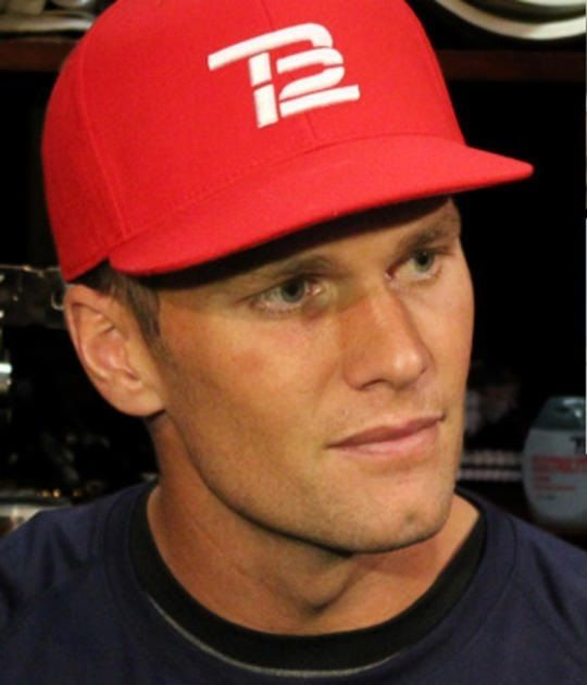 ITEM ENDS WITHIN HOURS AND *GAME DAY SALE* Only 1 piece! Get yours!! NEW ENGLAND PATRIOTS TOM BRADY WHITE ON RED TB12 HAT - RARE #NFLTeams