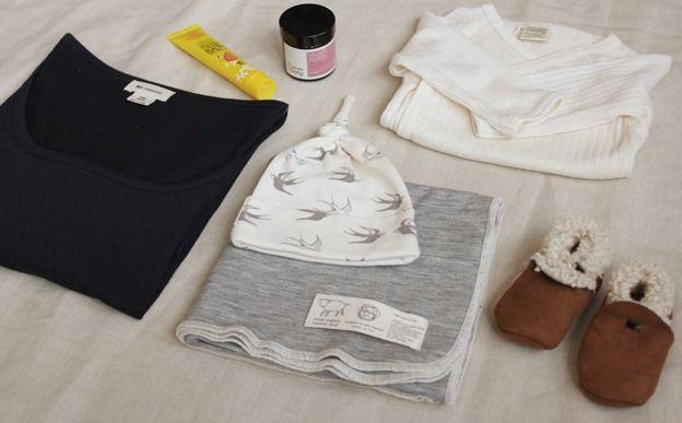 hospital bag checklist | Journal | Natural Organic Bio Baby Products: Organic Cotton & Merino Wool