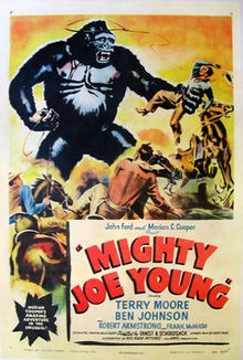 Mighty Joe Young - a 1949 RKO Radio Pictures film made by the same creative team responsible for King Kong (1933).