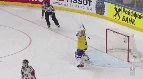 Sweden's William Nylander tackles his goalie after winning the gold medal http://ift.tt/2qFeaLG Love #sport follow #sports on @cutephonecases
