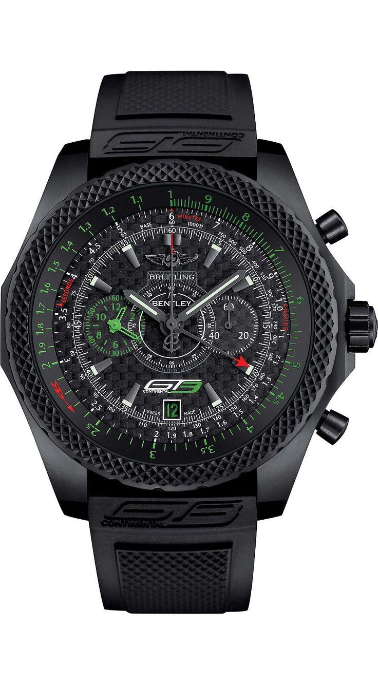 BREITLING - Breitling for Bentley GT3 titanium chronograph watch | Selfridges.com