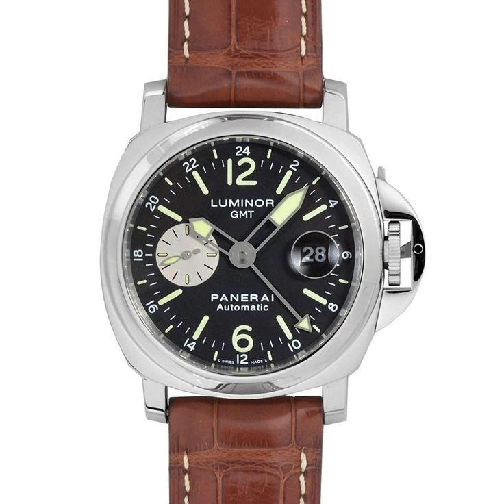 PANERAI LUMINOR GMT AUTOMATIC ACCIAIO - 44MM MEN WATCH PAM00088