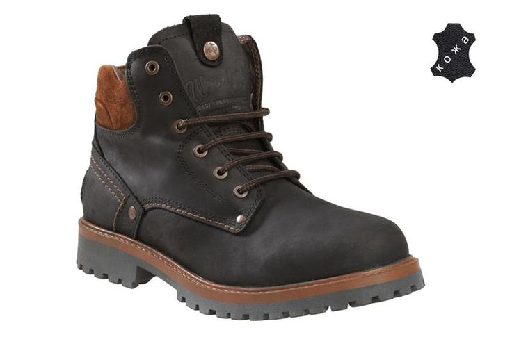 Ботинки зимние мужские вранглер