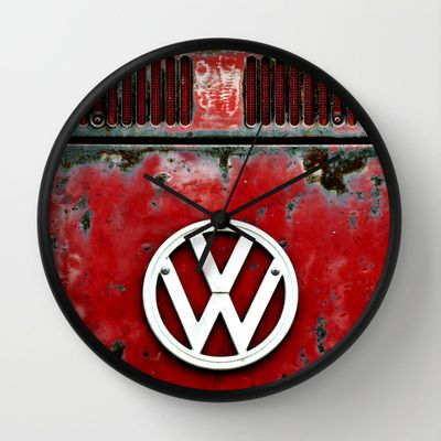 VW Retro Red Wall Clock                                                                                                                                                      More