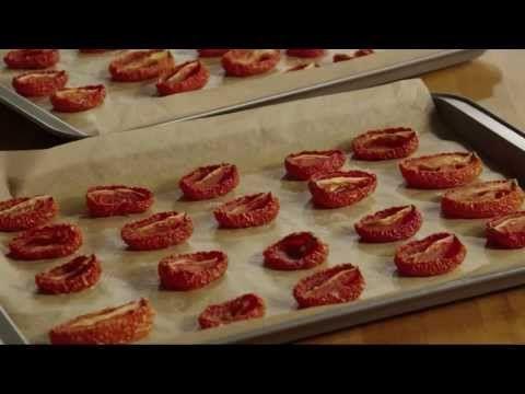 Tomato Recipe - How to Make Sun-Dried Tomatoes