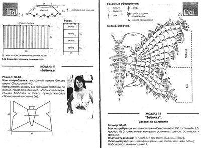 crochet butterfly tank top | make handmade, crochet, craft