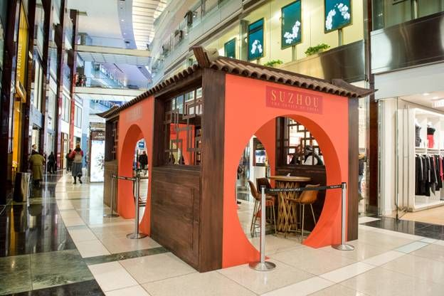 Suzhou Tourism Celebrates International Tea Day With Holiday Teahouse at The Shops at Columbus Circle in New York City