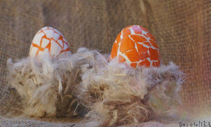 Happy Easter! decor eggs