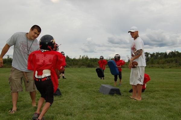 Football camp in Janvier
